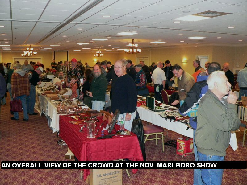 An overall view of the crowd at the Nov. Marlboro show.